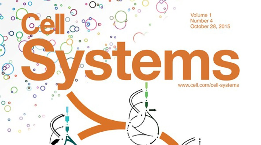 Cover of Cell systems, issue 4, October 28, 2015